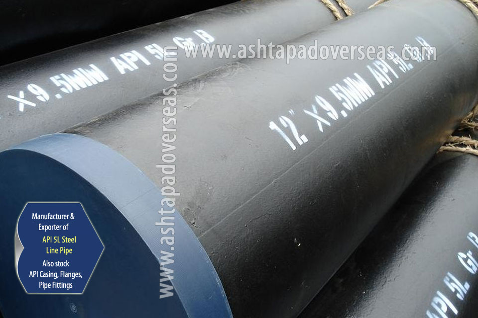 API 5L X80 Pipe ready stock in our Stockyard