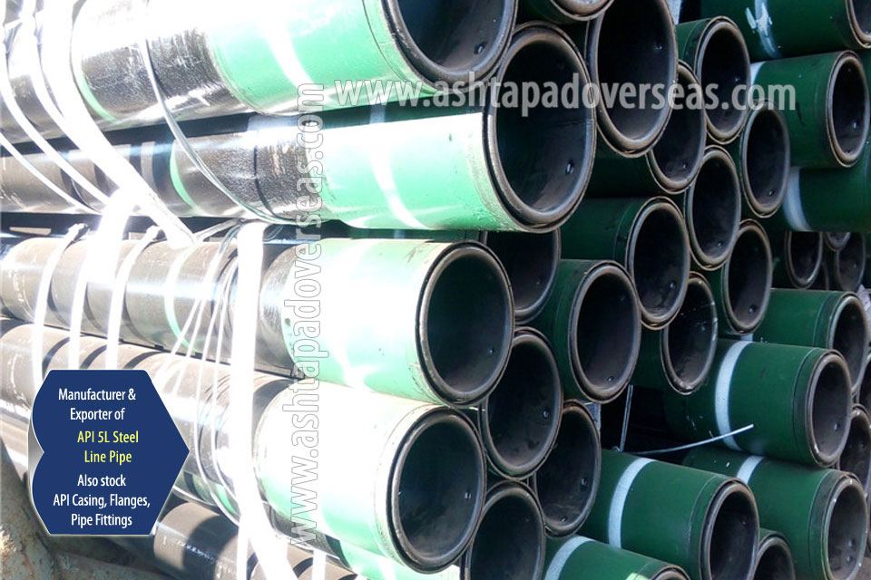 API 5L X80 Welded Pipe ready stock in our Stockyard