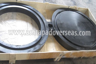 ASTM A105 / A350 LF2 Carbon Steel Spacer Ring / Spade Flanges suppliers in Indonesia